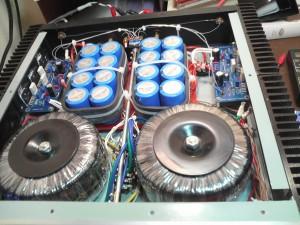 LM3886自作アンプトロイダルトランス
