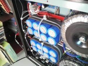 LM3886自作アンプ電源部