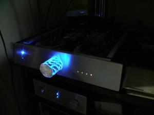 LM3886DC動作自作アンプ